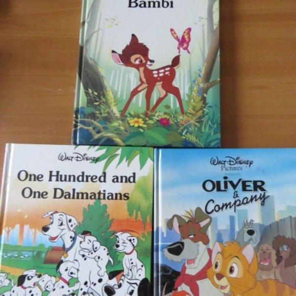3 Large Disney Books